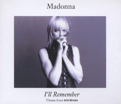 I'll Remember [UK CD Single]