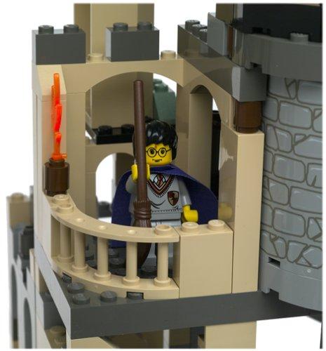 Harry en torre del castillo