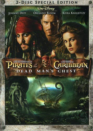 Pirates of the Caribbean - Dead Man's Chest  DVD