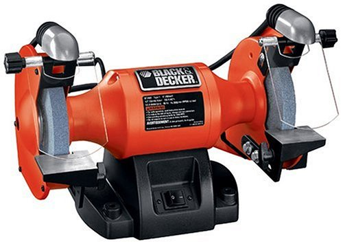 Black Amp Decker Bt3500 6 Quot Bench Grinder Gosale Price