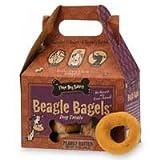 Three Dog Bakery Beagle Bagels, Peanut Butter (13 Bagels)
