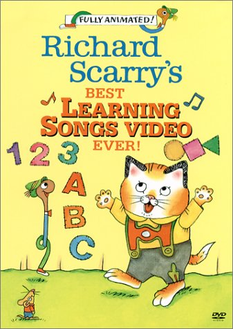 Get Richard Scarry's Best Learning Songs Video Ever! On Video