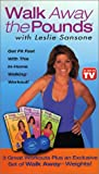 Leslie Sansone - Walk Away the Pounds 3 Pack (includes weight set)