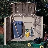 Suncast GS3000 45 Cubic Foot Horizontal Storage Shed