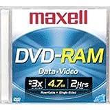 1-pack DVD-RAM Media 4.7GB Rewrite