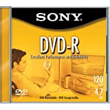 Sony 1-pack DVD-R 4.7GB Write Once Disc