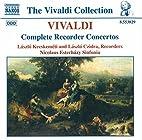 Complete recorder concertos by Antonio…