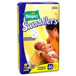 Pampers Size 2 Swaddlers Jumbo Pack 46 Diapers