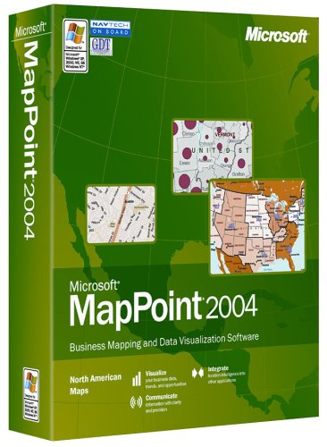 Microsoft mappoint 2006 europe low price