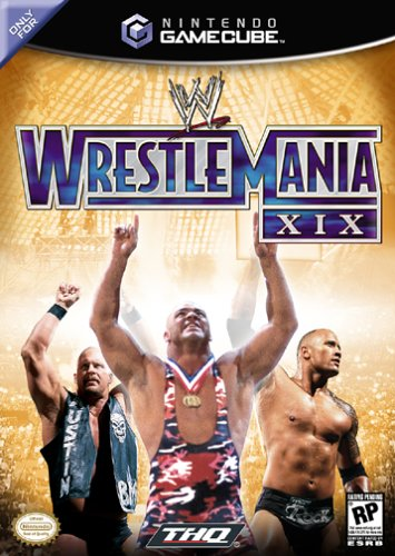 THQ WWE Wrestlemania X9