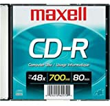MAXELL CDR700 700MB Blank Recordable CD