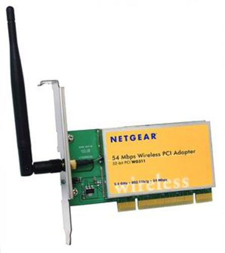 Netgear wg311v2 802.11g wireless pci adapter