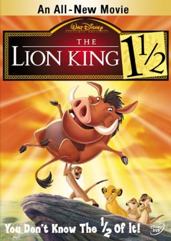 Get The Lion King 1½ On Video