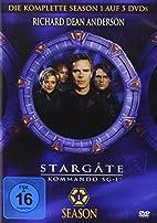 Stargate Kommando SG-1 - Season 01 [5 DVDs]…