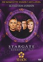 Stargate Kommando SG-1 - Season 05 [6 DVDs]…