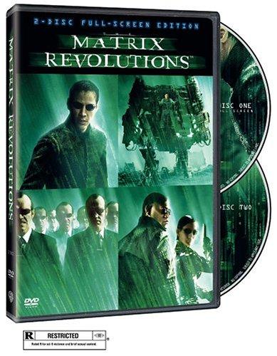 The Matrix Revolutions  DVD