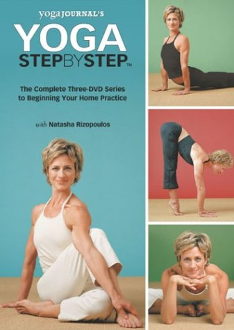 Yoga Journal:Step By Step 3pk Set
