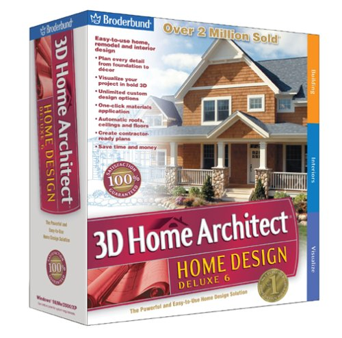 The 8 Best Home Design Software Of 2019: Oem Software Downloads: Broderbund 3D Home Architect