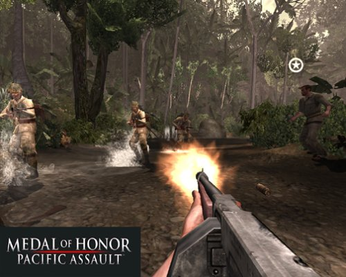 Medal of Honor: Pacific Assault War Games ~ Games Galleries