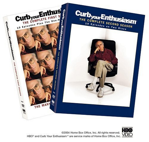 Curb Your Enthusiasm - The Complete First & Second Seasons DVD