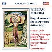 William Bolcom - Songs of Innocence and of…