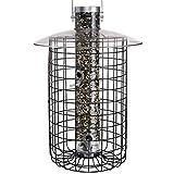 Droll Yankees Domed Cage Feeder (Model B7DC) - Black