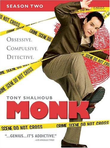 Monk - Season Two DVD
