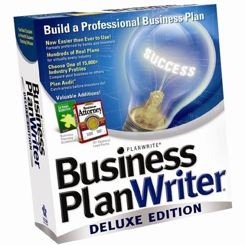 Nova business plan writer deluxe 2006