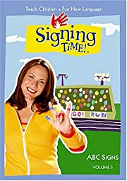 Signing Time Volume 5: ABC Signs DVD by Doug…