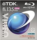 TDK ブルーレイディスク オープンカートリッジタイプ25GB [BD-RE135N]