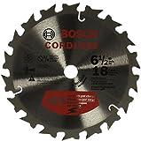 "Bosch CBCL618A  6 1/2"" 18T General Purpose Circular Saw Blade"