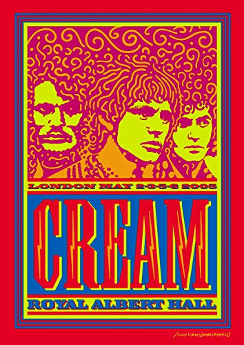 album cover parodies of cream cream royal albert hall london may 2 3 5 6 2005. Black Bedroom Furniture Sets. Home Design Ideas