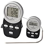 Chaney Instrument Wireless BBQ Thermometer - silver and black