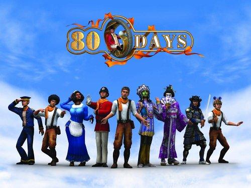 لعبة مغامرات في 80 يوما حول العالم هل انت مستعد لهذه المغامرة اذا هيا بنا