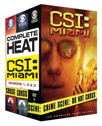 C.S.I. Miami - The Complete Seasons 1-3 DVD