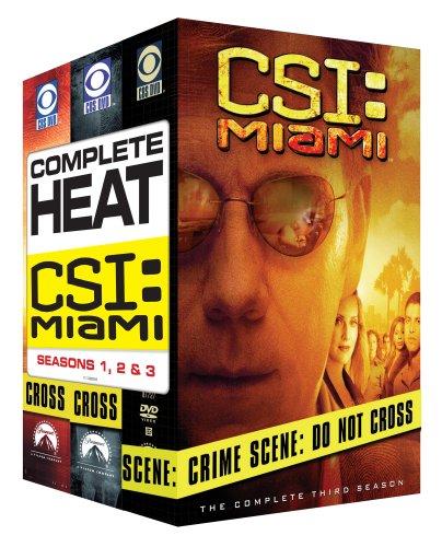 CSI: Miami - Three Season Pack DVD
