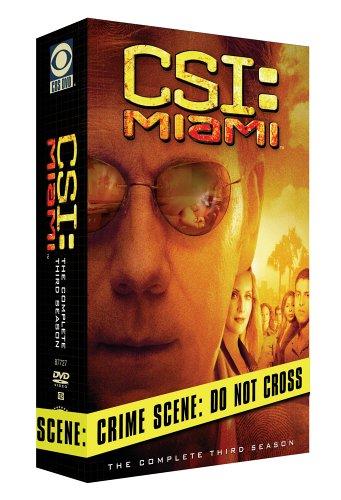 C.S.I. Miami - The Complete Third Season DVD