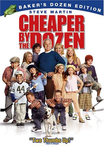 Cheaper By the Dozen  DVD
