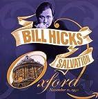 Salvation (Oxford, November 11, 1992) by…