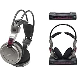 audio-technica サラウンドコードレスヘッドホンシステム ATH-CL550