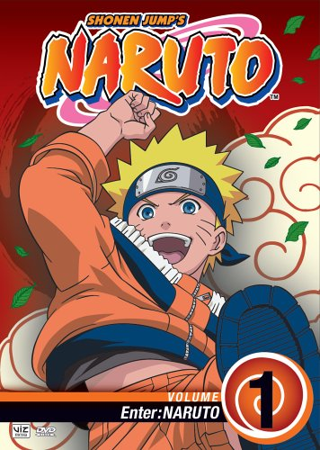 Naruto, Vol. 1 - Enter Naruto DVD