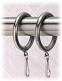Shower Curtain Rings (set of 12) - Satin Nickel