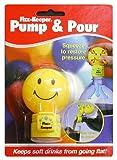 炭酸ぬけま栓Pump&Pour ハッピーフェイス(英語パッケージ)