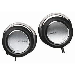 JVC HP-AL600-S 密閉型オンイヤーヘッドホン 耳掛け式 シルバー