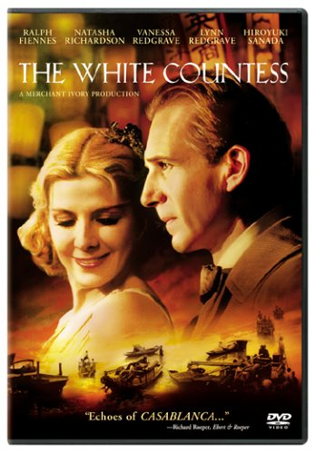The White Countess DVD