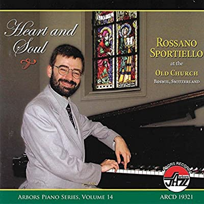 Album Heart and Soul by Rossano Sportiello