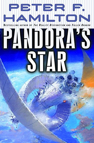 Pandora's Star (Commonwealth Saga, #1) by Peter F. Hamilton