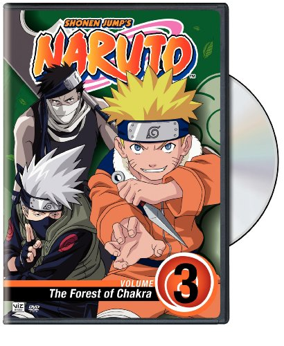 Naruto, Vol. 3 - The Forest of Chakra DVD