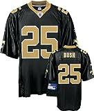Reggie Bush New Orleans Saints Black NFL Replica Jersey