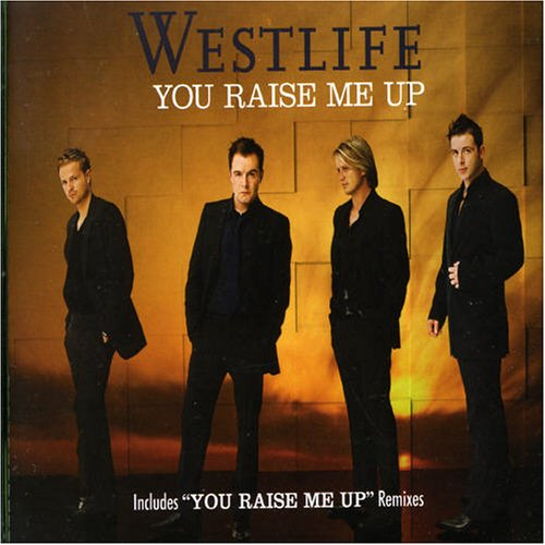 "Westlife ""you raise me up"" sheet music notes, chords 